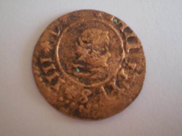 16 Maravedís de Felipe IV (Sevilla, 1664) ensayador Rodrigo Fernández Rebolledo 517396948