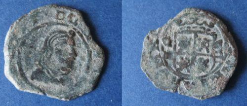 """8 Maravedís """"busto"""" de Felipe IV (Granada, 1661) a martillo 524368846"""
