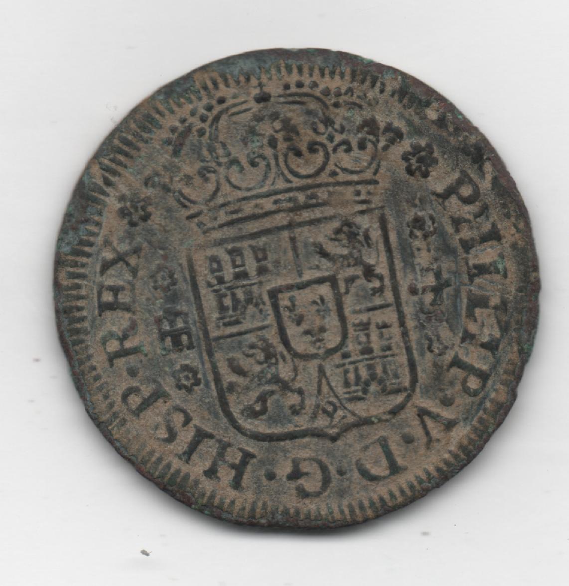 4 Maravedís de Felipe V (Segovia, 1742) 542743268