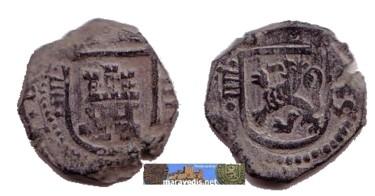 8 Maravedís de Felipe IV (Valladolid, 1624 ) 618179329