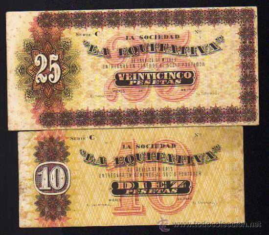 BILLETES DE LA FÁBRICA DE MIERES(ASTURIAS) 631481583
