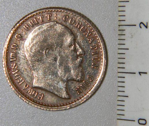 Token o Moneda conmemorativa de la Coronación del Rey Edward VII 667317347