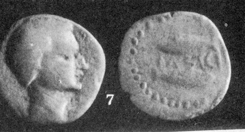 As de LASTIGI (Sanlúcar la Mayor, Sevilla) S.IIa.C. 667523546