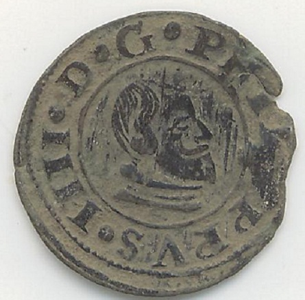 16 maravedíes con Busto de Felipe IV dedicada a MOINANTE  819883867