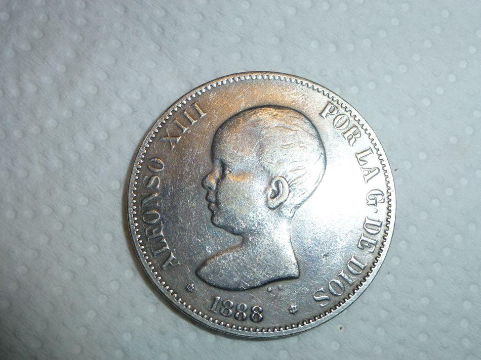 5 pesetas Alfonso XIII 1988 MSM 828743735