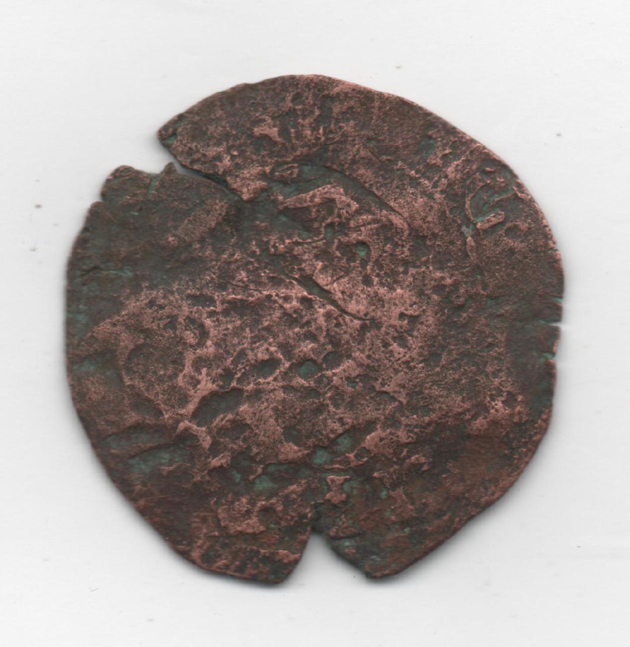8 maravedís de Felipe III ó IV (ingenio Segovia) con RESELLOS 904634881