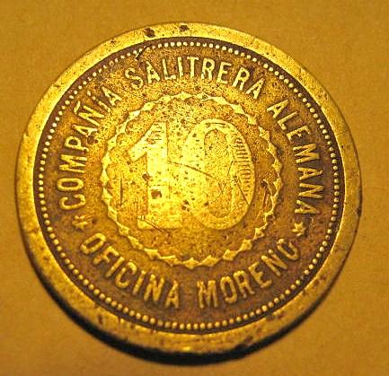 SIN IDENTIFICAR - Ficha de Casino, 10 931029772