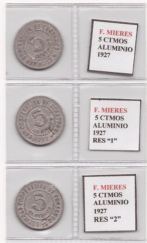 Variantes y curiosidades en las fichas de Fabrica de Mieres ( Asturias ) 955448606