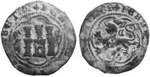 4 Maravedís a nombre de los Reyes Católicos (Cuenca) variante AC 977220424