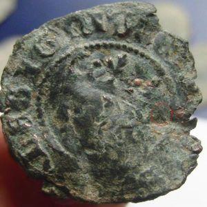 identificar ceca en Cruzado Enrique II 102924971