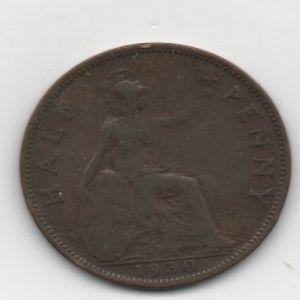 Reino Unido, 1 Penique, Rey Jorge V. 1930 10954306