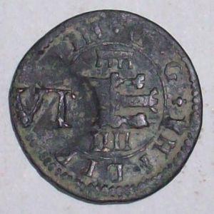 4 Maravedís de Felipe IV de Segovia 1604 123518556