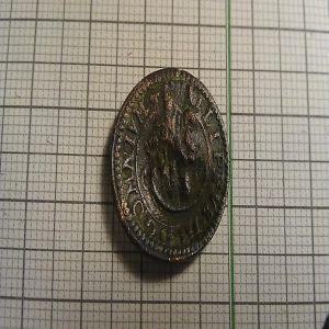 4 Maravedís de Felipe III, con resello 4/1652 137923113