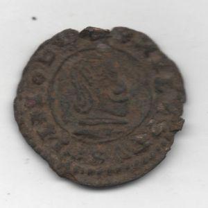 """16 Maravedíes """"busto"""" de Felipe IV (Trujillo, 1661-1664) 140474412"""