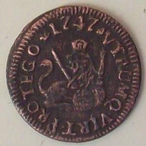 1 Maravedí de Fernando VI (Segovia, 1747) 165001797