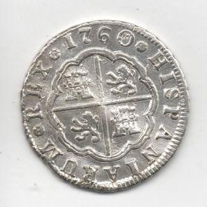 2 Reales de Carlos III (Madrid, 1760) 166848356
