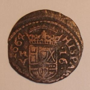 LIMPIAR 16 MARAVEDÍS FELIPE IV 175581456