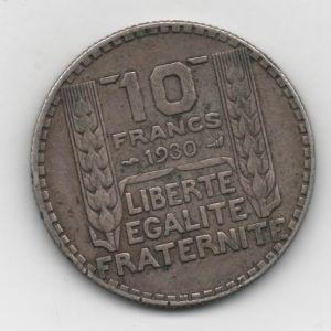 Francia, 10 Francs de 1930 [Km 878] 178066562