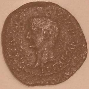 As Hispanorromano de CAESAR AVGVSTA bajo Tiberio 189176898