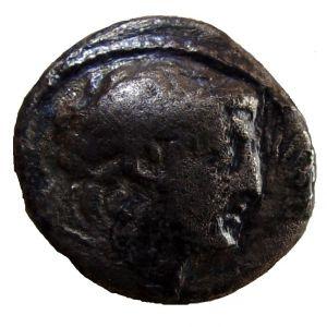 Didracma o 1/2 shekel de Demetrio II, Tiro 191444847