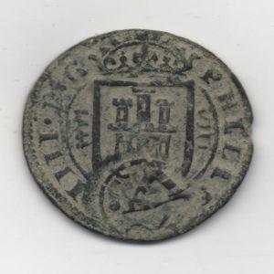 8 Mrs. de Felipe III (Segovia, 1624) con resello falso de 1641 212362694