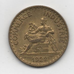 commerce - Francia - 1 Franc Commerce Industrie 1922 213008410