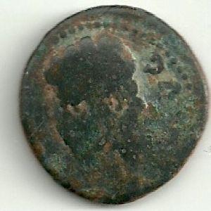 As Hispanorromano de COLONIA PATRICIA bajo Augusto con resello (CR) 227272232