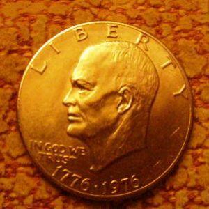 Estados Unidos - un dolar conmemorativo bicentenario declaración de independencia 244039220