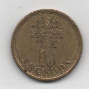 Portugal, 10 escudos, 1997. 253739850