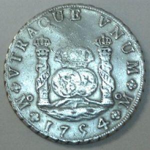 8 Reales de Fernando VI (México, 1754) 266453331