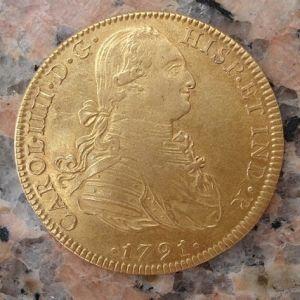 8 Escudos de Carlos IV  271382546