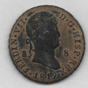 8 Maravedís de Fernando VII 280320821