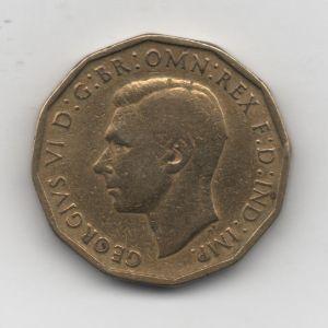 Gran Bretaña - 3 Pence de Georgius VI (1942) 283355249