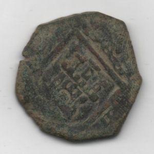 8 Maravedís de Felipe III ó IV (Sevilla, 1602-1626) 283401072