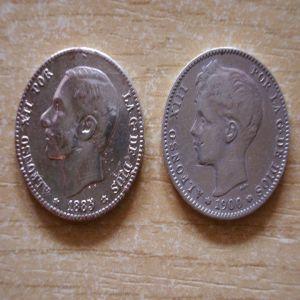 Desastre con una peseta de Alfonso XII 286836626