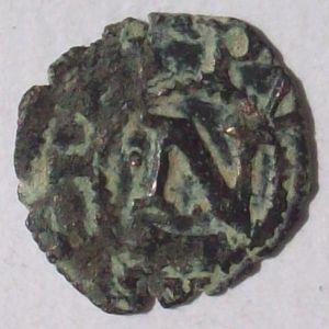 Dinero de Navarra a nombre de Carlos I 286987299