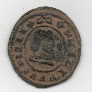 """16 Maravedis """"busto"""" de Felipe IV de (Granada, 1662) 291431460"""