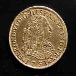 8 Escudos de Felipe V (México, 1745) 300376969