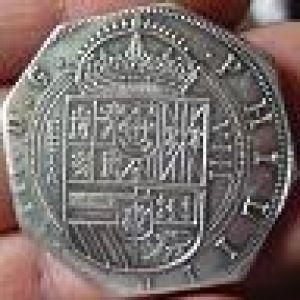 Real de a 8 de Felipe III, reproducción moderna 303649769