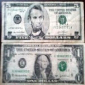Estados Unidos 5 Dolares Emision 2003 304225746