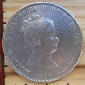 20 reales, 1849. Madrid. 305754775
