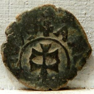 Dinero de Carlos II (Zaragoza, 1679) 321302671