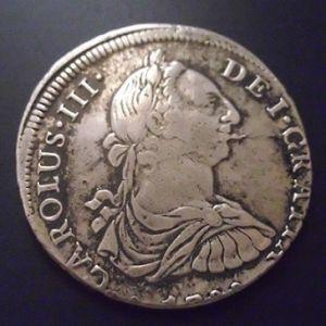 8 Reales de Carlos III (Lima, 1788) 327497359