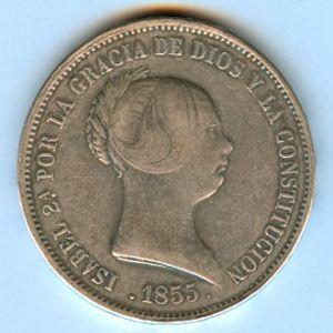 moneda 5 pesetas plata 1869 33129267