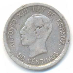 50 Centimos 1926 Alfonso XIII 331849638