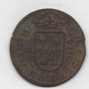 8 Maravedíes de Felipe III (Segovia, 1607) Acuñación Hidráulica 335364539
