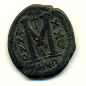40 nummi JustinianoI 337397412