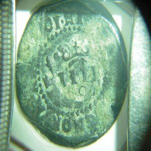 Resello a IIII de 1603 de la ceca de Cuenca 349585017