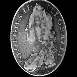 1/2 Corona a nombre de Jorge II de Hanóver, rey de Gran Bretaña e Irlanda, 1746 35092168