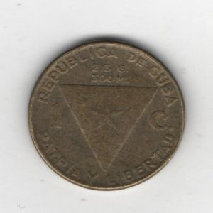 Un centavo de Cuba de 1953, conmemoración de los 100 años del nacimiento de José Martí 354518362